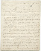 view Thomas Cole letter to George W. Greene digital asset: page 1