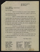 view Committee of New York artists letter to Holger Cahill digital asset number 1