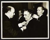 view George Constant receiving a medal digital asset number 1