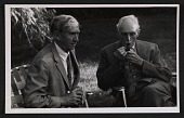 view Photograph of W.G. Constable and Sir Herbert Edward Read digital asset number 1