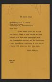 view W.G. Constable, Boston, Massachusetts letter to Paul J. Sachs, Cambridge, Massachusetts digital asset number 1