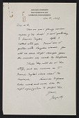 view George L. Stout letter to W. G. Constable digital asset number 1