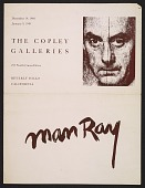 view <em>Man Ray</em> exhibition catalogue from The Copley Galleries digital asset: inside