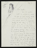 view Dorothea Tanning to Joseph Cornell digital asset number 1