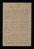 view Rudy Burckhardt letter to Joseph Cornell digital asset number 1