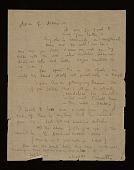 view Roberto Matta Echaurren letter to Joseph Cornell digital asset number 1
