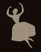 view Ballerina cutout digital asset number 1