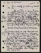 view Draft of condolence letter from Joseph Cornell to Teeny Duchamp digital asset: page