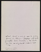 view Joseph Cornell diary entry digital asset number 1