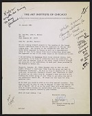 view Letter from A. James Speyer to Mr. and Mrs. John A. Benton digital asset number 1