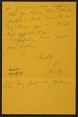 view Lindy Bergman, Chicago, Ill. letter to Betty Benton, Westhampton, N.Y. digital asset number 1