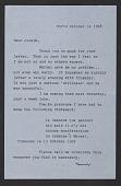 view Teeny Duchamp letter to Joseph Cornell digital asset number 1