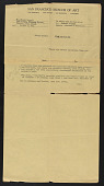 view Joseph Cornell letter to Marianne Moore digital asset number 1