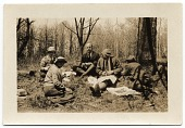 view Allyn and Jill Cox on a picnic with others digital asset number 1