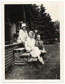 view Allyn and Jill Cox with friends digital asset number 1