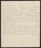 view Florence Ballin Cramer letter to Konrad Cramer digital asset number 1