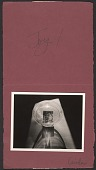 view Linda Connor Christmas card to Imogen Cunningham digital asset number 1