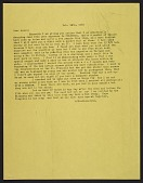 view Imogen Cunningham letter to Ansel Easton Adams digital asset number 1