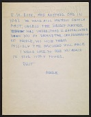 view Merle Armitage letter to Imogen Cunningham digital asset number 1