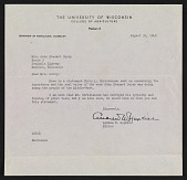 view Andrew W. Hopkins letter to Mrs. John Steuart Curry digital asset: page