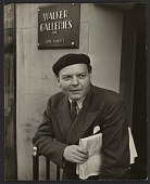 view John Steuart Curry outside the Walker Galleries digital asset number 1