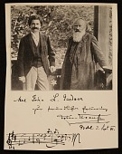 view Johann Strauss II and Johannes Brahms digital asset number 1