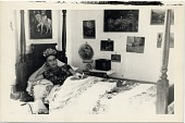 view Photograph of Frida Kahlo reclining on her bed in Coyoacán, Mexico digital asset number 1