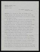 view National Gallery of Art, Board of Trustees Appointment, Congratulatory Letters digital asset: National Gallery of Art, Board of Trustees Appointment, Congratulatory Letters