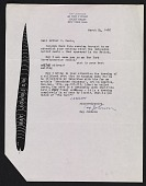 view Ray Johnson letter to Arthur Coleman Danto digital asset number 1