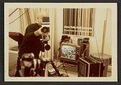 view Gene Davis behind a video camera digital asset number 1