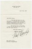 view Paul Manship letter to Janet deCoux digital asset number 1