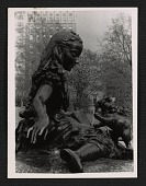 view Detail of Jose de Creeft's sculpture <em>Alice in Wonderland</em> in Central Park digital asset number 1