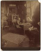 view William Sartain in his studio digital asset number 1