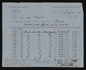 view Receipts and Invoices digital asset: Receipts and Invoices: 1869-1879