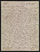view Lockwood de Forest letter to Mary Garrett digital asset: page