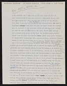 "view Dorothy Dehner papers digital asset: Draft of ""David Smith: First Meeting"" (Reel D298)"
