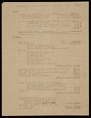 view Elaine and Willem de Kooning financial records, 1951-1969 digital asset number 1