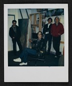 view Four unidentified men in an artist's studio digital asset number 1