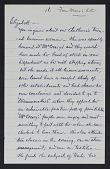 view Correspondence, Dewing, Maria Oakey digital asset: Correspondence, Dewing, Maria Oakey: circa 1910-1926