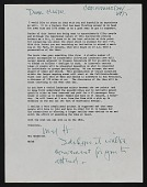 view Mel Henderson letter to Eleanor Dickinson digital asset number 1