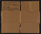 view Section of cardboard box with price code key for Winslow Homer paintings digital asset number 1