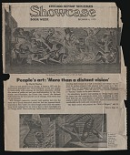 view Article from the <em>Chicago Sunday Sun-Times</em> about murals, including the <em>Wall of Respect</em> digital asset number 1