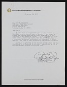 view Regenia A. Perry, Richmond, Va. letter to Jeff Donaldson, Washington, D.C. digital asset number 1