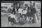 view Postcard for <em>AFRICOBRA: the First Twenty Years</em> at Nexus Contemporary Art Center, Atlanta, GA digital asset number 1
