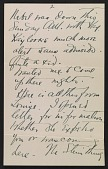 view Arthur Garfield Dove letter to Helen Torr Dove digital asset: page 1