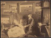 view Arthur Wesley Dow in his studio digital asset number 1
