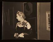 view Edith Gregor Halpert in an evening dress digital asset number 1
