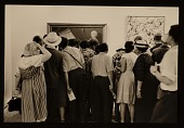 view Crowds viewing the <em>American National Exhibition</em>, Moscow digital asset number 1