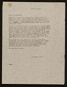 view Edith Gregor Halpert letter to Jacob Lawrence digital asset number 1