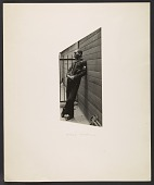 view Jacob Lawrence in a Coast Guard uniform digital asset number 1